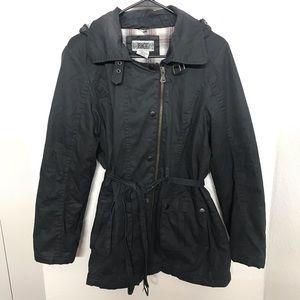 BKE Buckle Black Jacket Utility